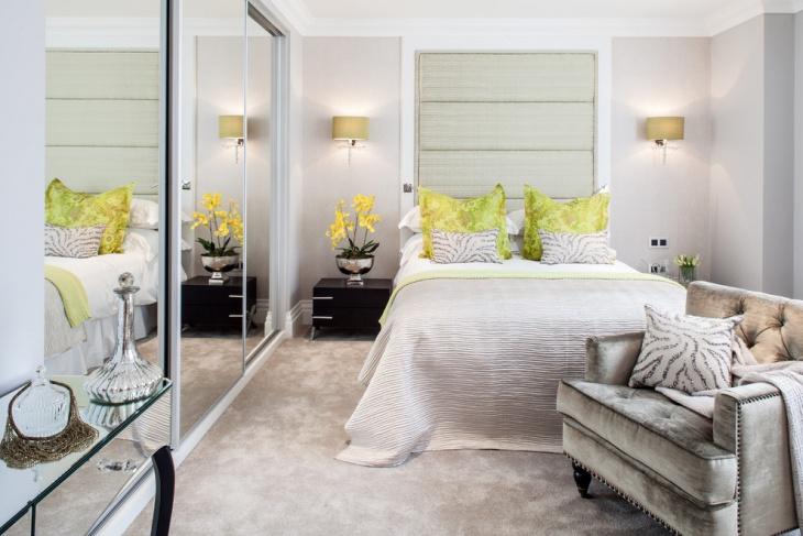 simple contemporary bedroom design