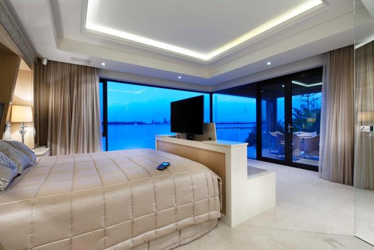 contemporary bedroom design with lavish look