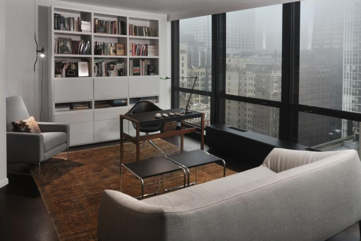 Modern Home Office With Modern Furniture