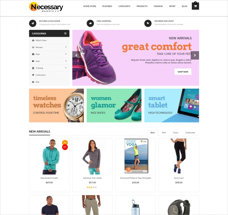 multi purpose ecommerce store theme