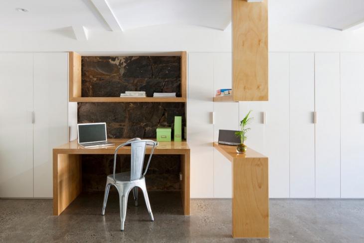 Scandinavian Shelf Desk Design