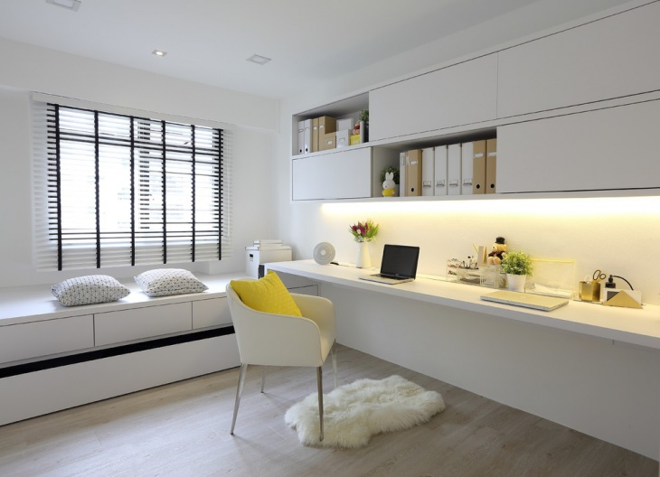 Accent Scandinavian Work Space Design