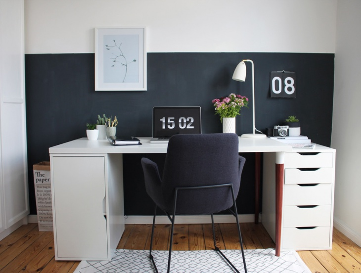 Nice Scandinavian Work Space Design
