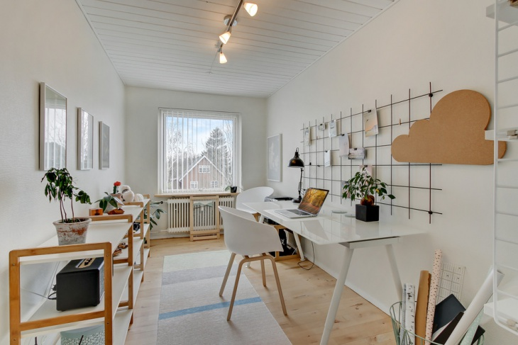 Latest Scandinavian Work Space Design