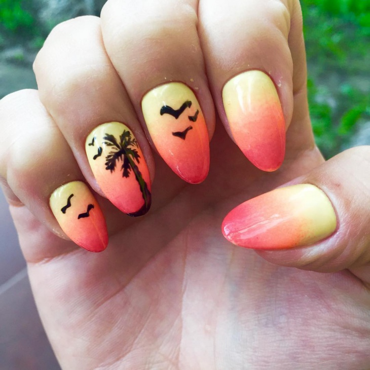 Beautiful Gradient Nail Ideas