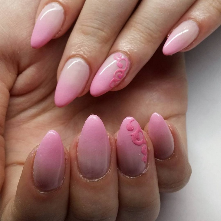 Pink Gradient Nail Ideas