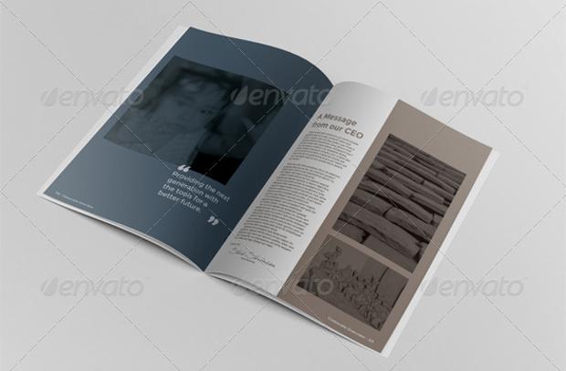 Photorealistic Brochure Mockup
