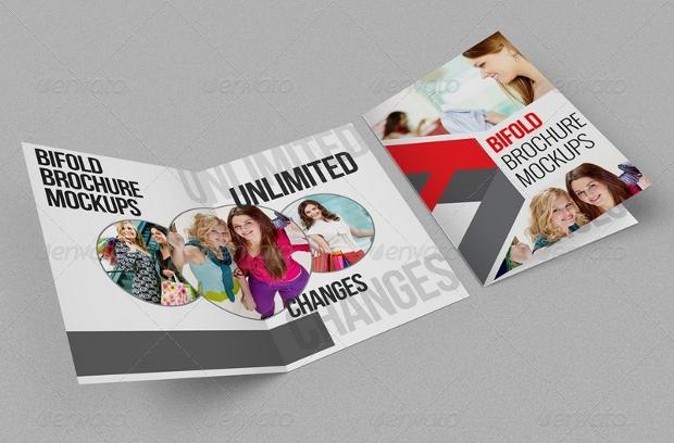 invitation brochure mockup