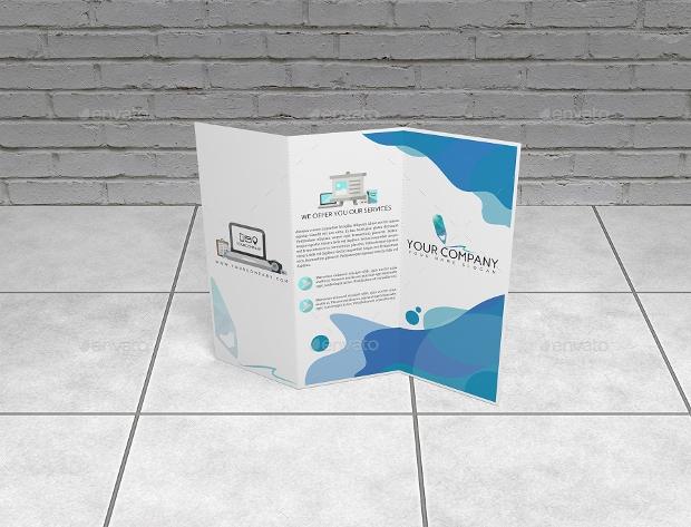 Trifold Brochure Mockup Design