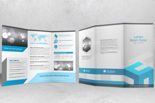 Classic Brochure Mockup Design