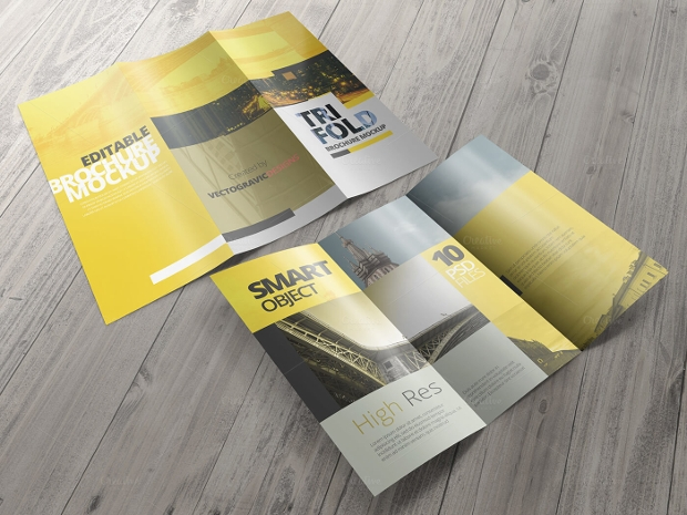 High Resolution Brochure Mockup