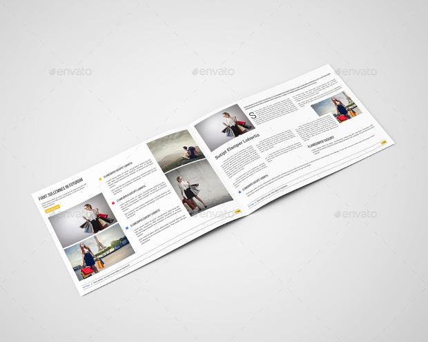 Brochure Mockup for Fashion