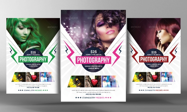 Digital Printing Photography Flyer