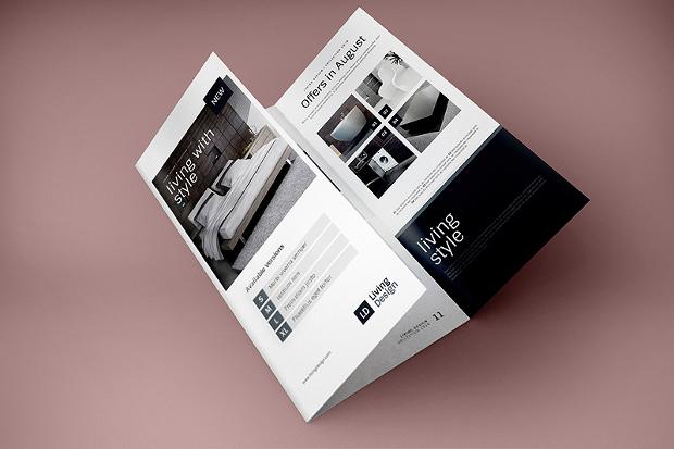 Classy Look Brochure Mockup