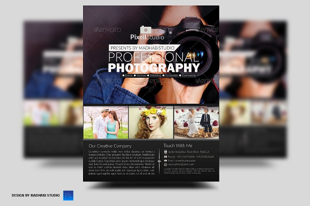 Perfect Photography Flyer Design