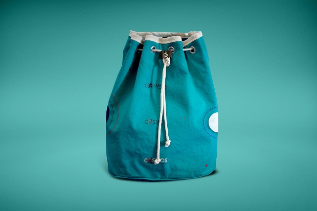 fashion drawstring bag mockup