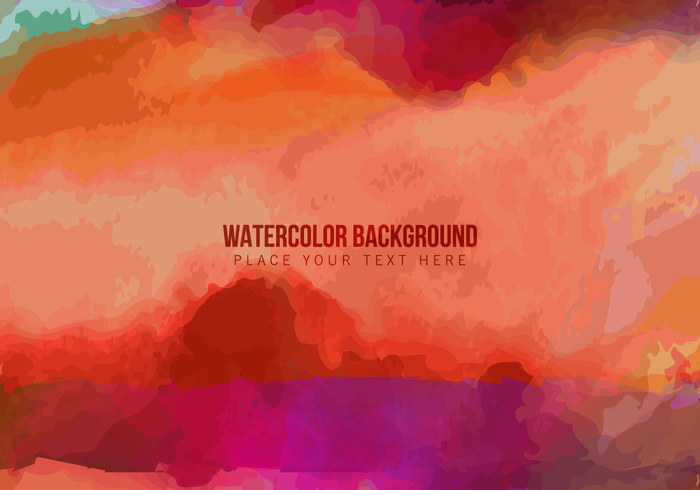 colorful watercolor grunge texture