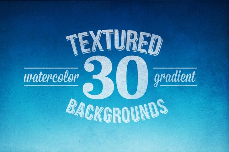 Download 30 Gradient Watercolor Background Textures