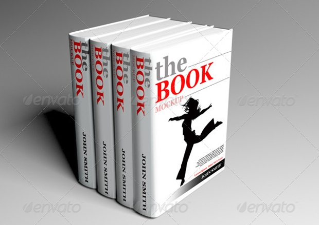 Creative Mockup Design for Book Cover