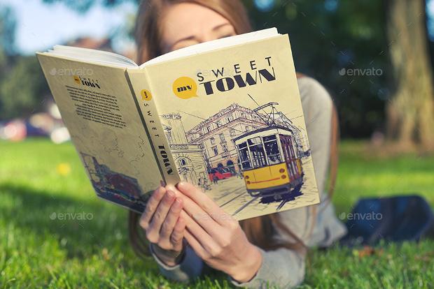 multipurpose book cover mockup