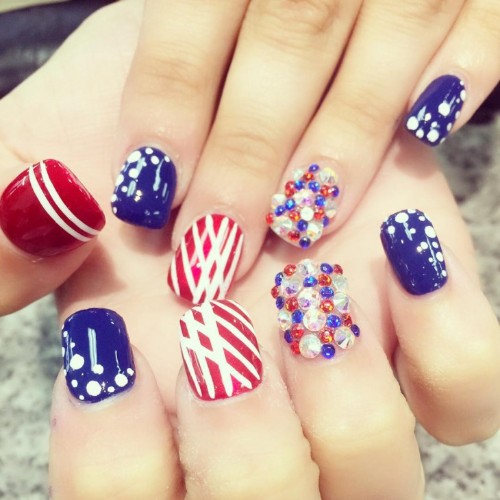 Awesome Fourth of July Nail Ideas