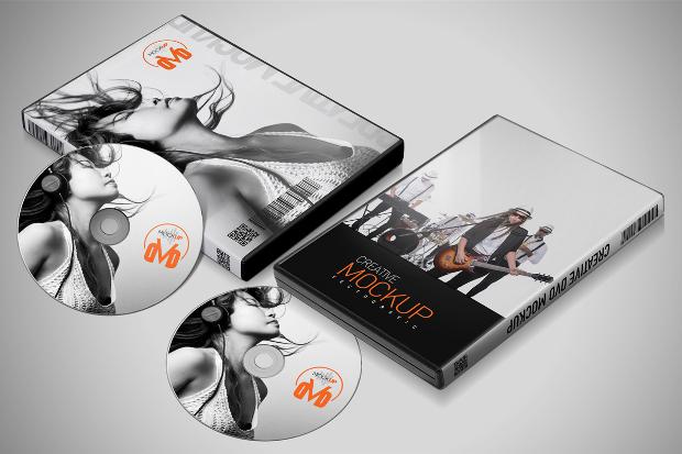 Creative DVD Mockup