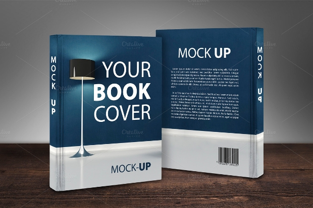 24+ Book Cover Mockups, PSD Download | Design Trends - Premium PSD ...