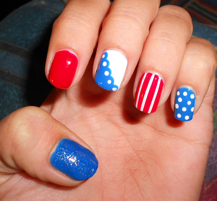 Fantastic Patriotic Nail Art Ideas