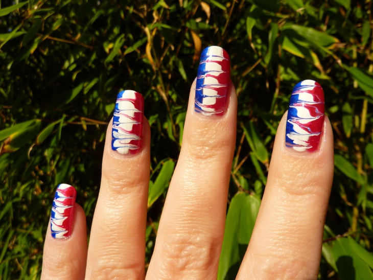 Fabulous Fourth of July Nail Design
