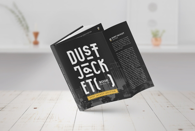 Classy Look Book Cover Mockup