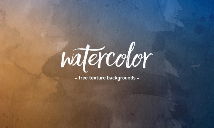4 Hi-Res Watercolor Backgrounds