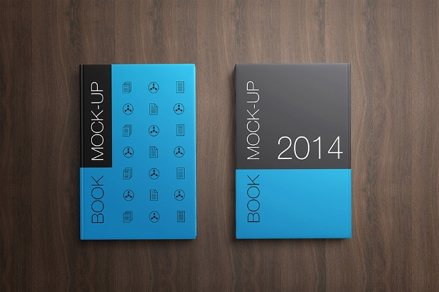 Modern Book Cover ~ Book cover mockups psd download design trends