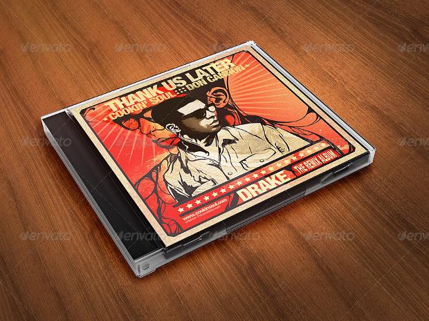 Album CD Cover Mock-Ups