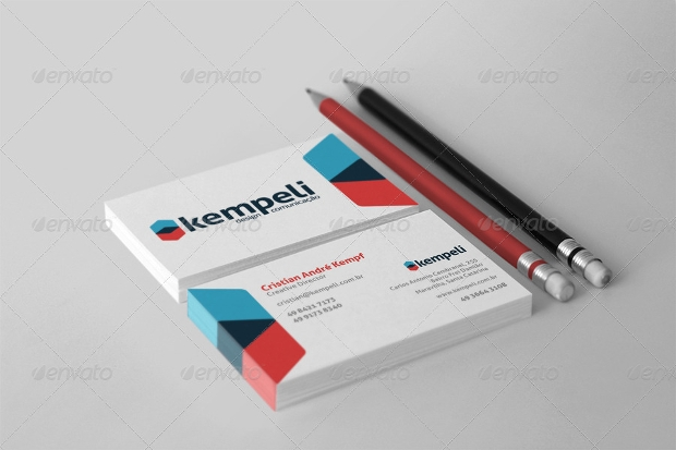 presentation stationery branding mockup