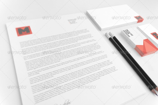 Stationary Branding Mockup Design