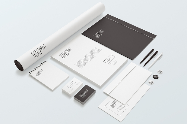 stationery branding mockup set