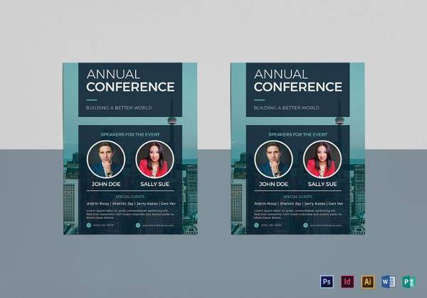 Annual Conference Flyer Template