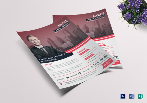 32+ Conference Flyer Designs, PSD Download | Design Trends - Premium ...