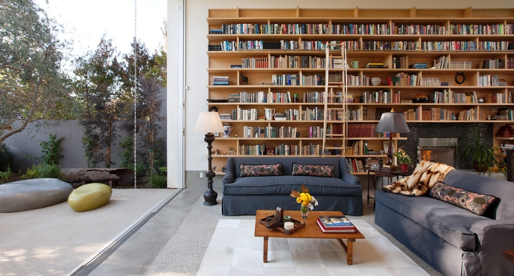 living room library design ideas 15 living room library designs ideas design trends 19057