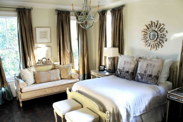 Eclectic Chateau Chic Bedroom Design