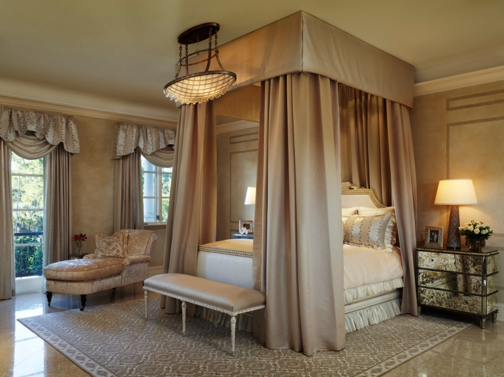 Traditional Chateau Chic Bedroom Design