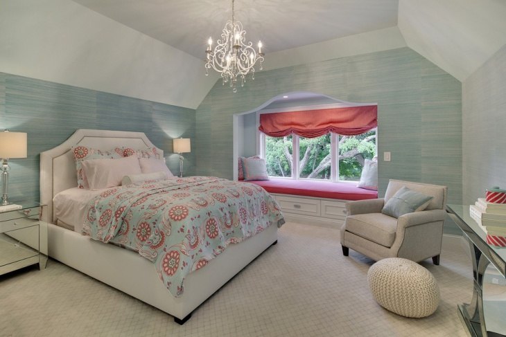 cool chateau chic bedroom design