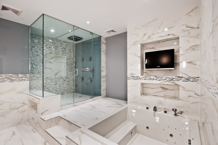 Complete Bathroom Remodeling Design with Lavish Look