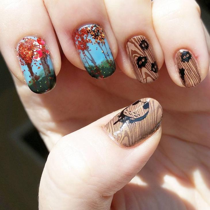 Miyazaki Nail Art