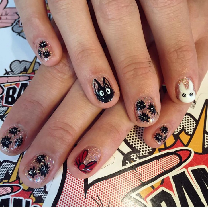 pretty miyozaki nail art1