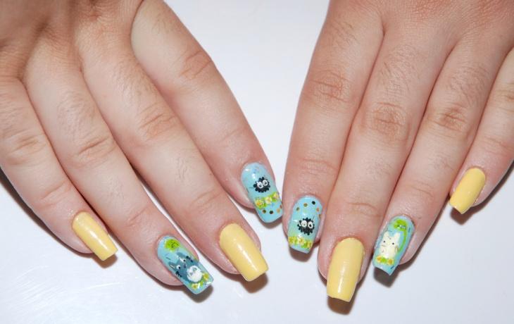 Awesome Miyazaki Nail Design