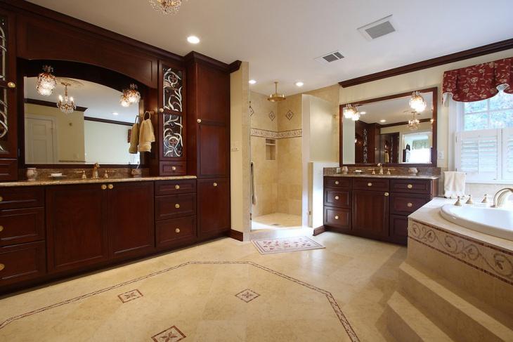 Lavish Bathroom Remodeling Design