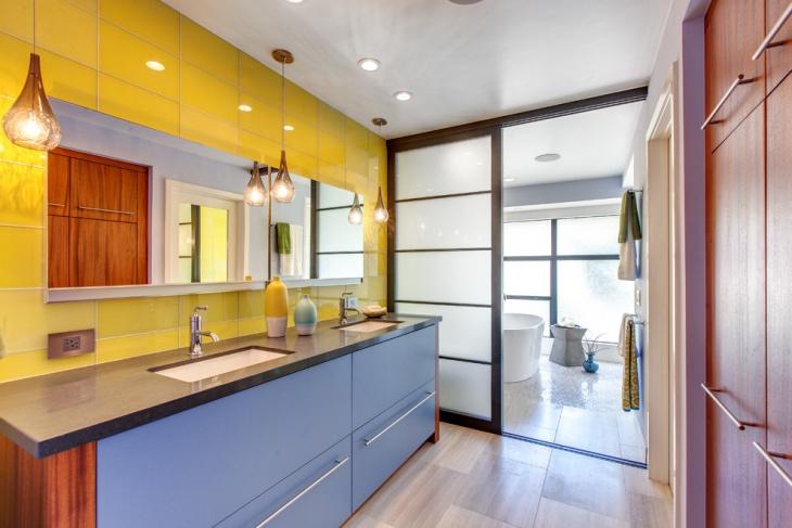 Colorful Bathroom Design Idea