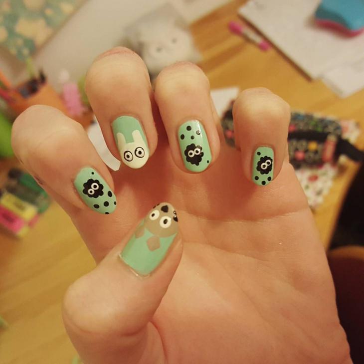 Fantastic Miyazaki Nail Ideas