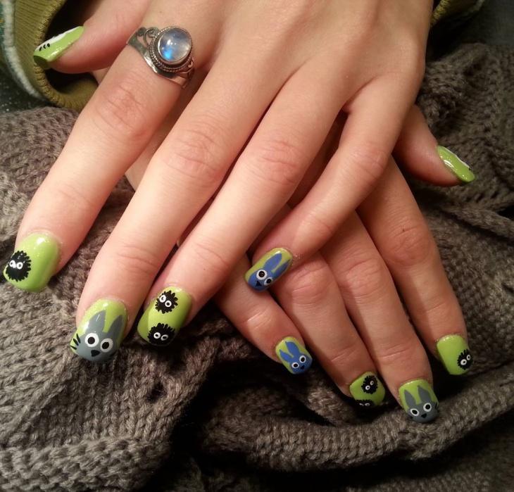 Mesmarize Miyazaki Nail Art